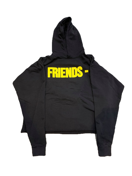 Vlone Yellow Friends Hoodie - CookiesandKicksLA