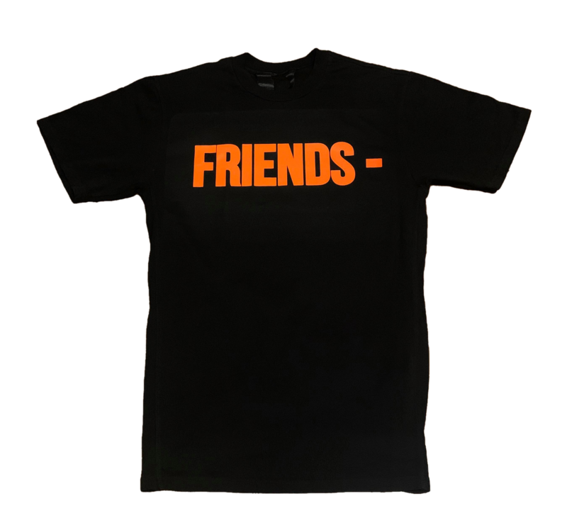 Vlone Friends Tee Orange/Black