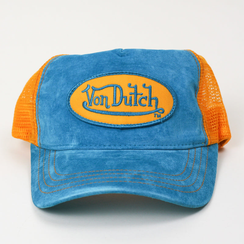Von Dutch Trucker Hat Blue/Orange