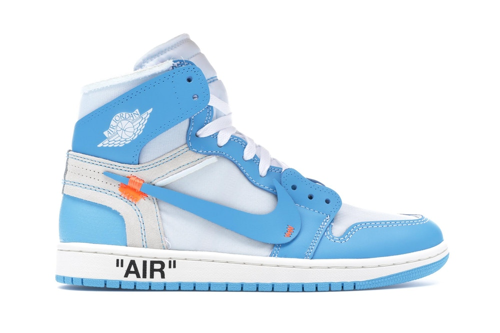 Jordan 1 Retro High Off-White University Blue - CookiesandKicksLA