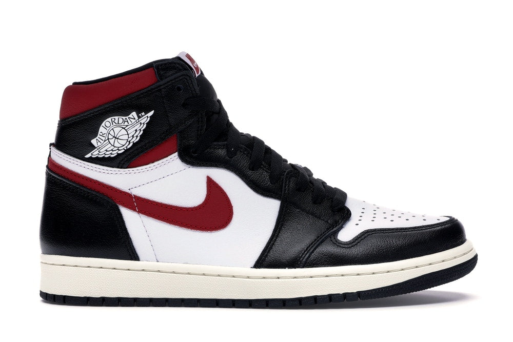 Jordan 1 Retro High Black Gym Red - CookiesandKicksLA