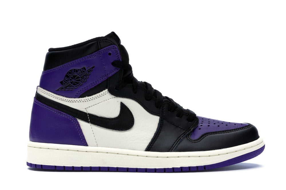 Jordan 1 Retro High Court Purple - CookiesandKicksLA