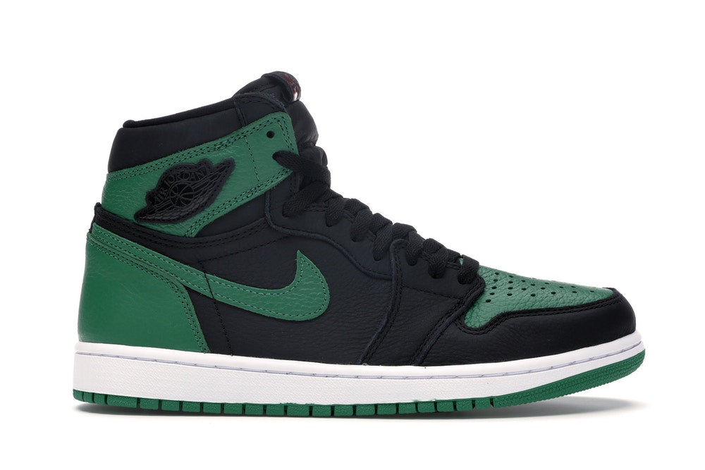 Jordan 1 Retro High Pine Green Black - CookiesandKicksLA