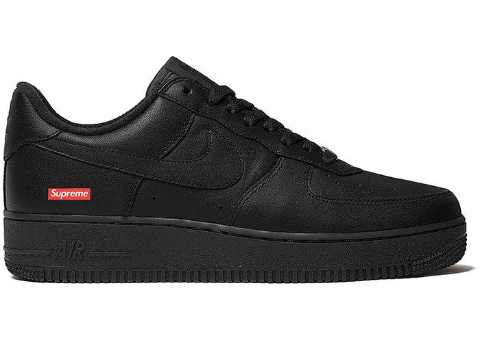 Nike Air Force 1 Low Supreme Black - CookiesandKicksLA