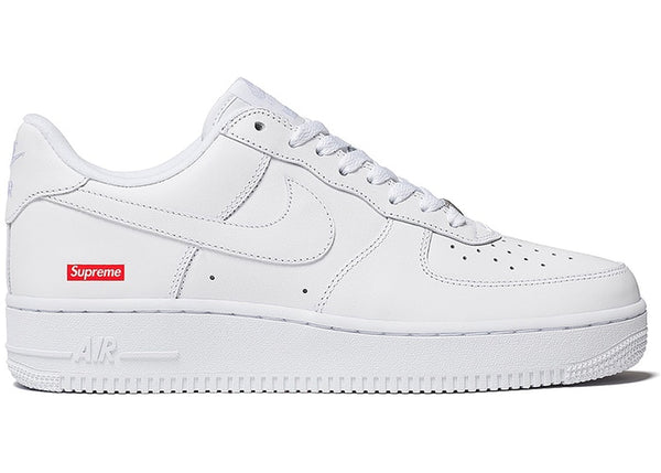 Nike Air Force 1 Low Supreme White - CookiesandKicksLA