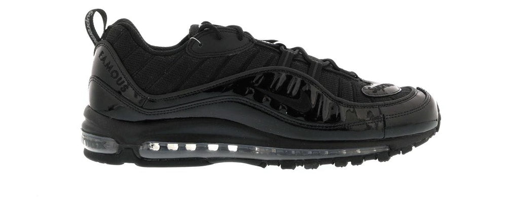 Nike Air Max 98 Supreme Black - CookiesandKicksLA