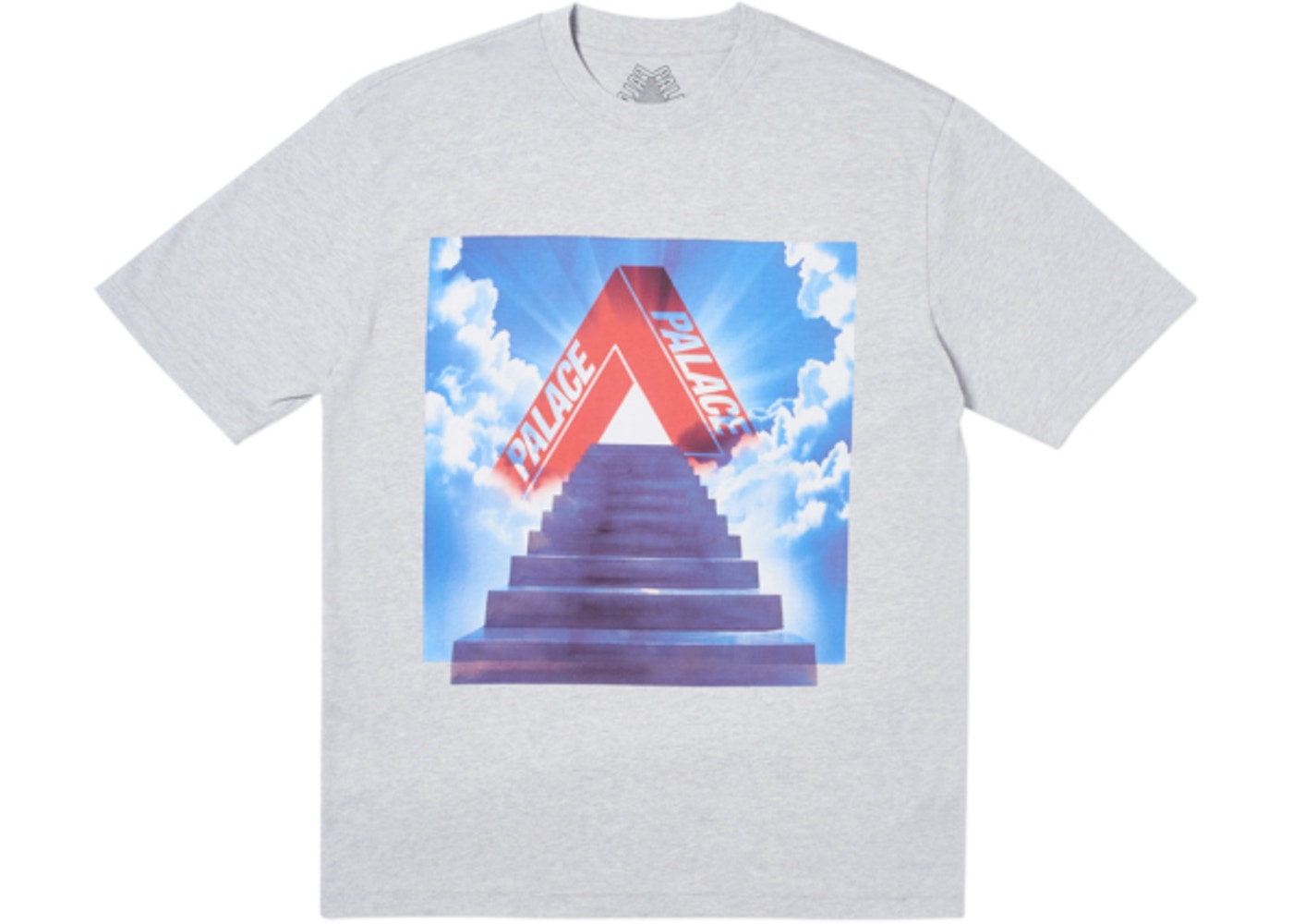 Palace Tri-Ternity T-Shirt Grey - CookiesandKicksLA