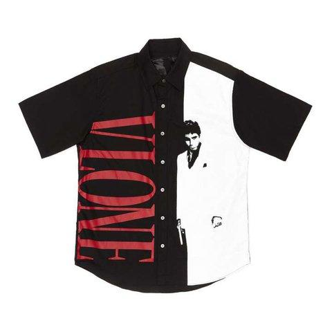 Vlone Scarface Button-Up - CookiesandKicksLA