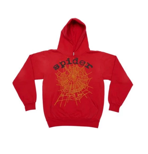 Young Thug Spider Red Hoodie