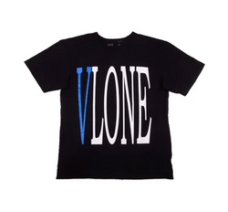 Vlone Staple Tee Blue/Black