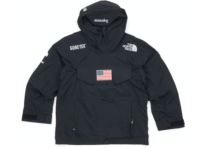 Supreme x The North Face Trans Antarctica Expedition Pullover Jacket Black - CookiesandKicksLA