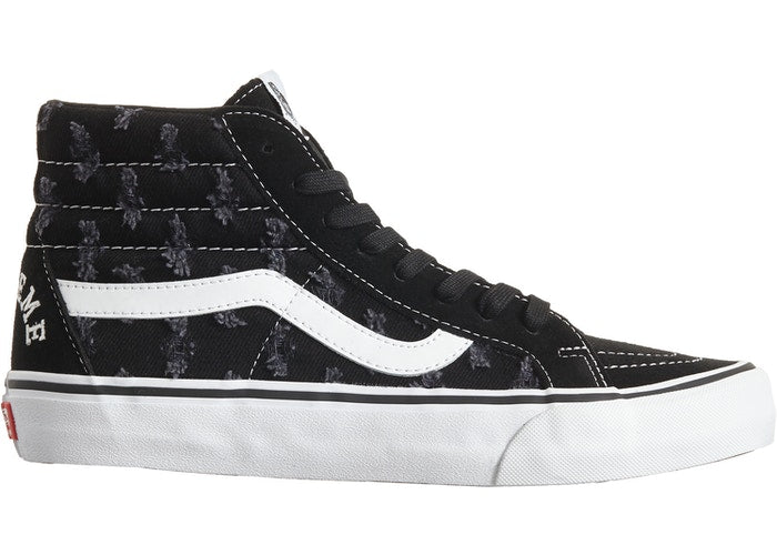 Vans Sk8-Hi Supreme Hole Punch Denim Black