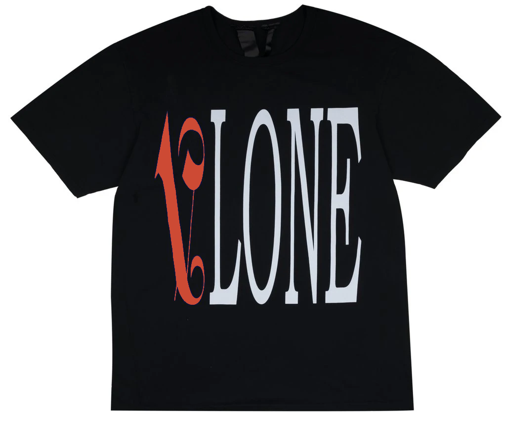Vlone X Palm Angels Tee Black/Red - CookiesandKicksLA