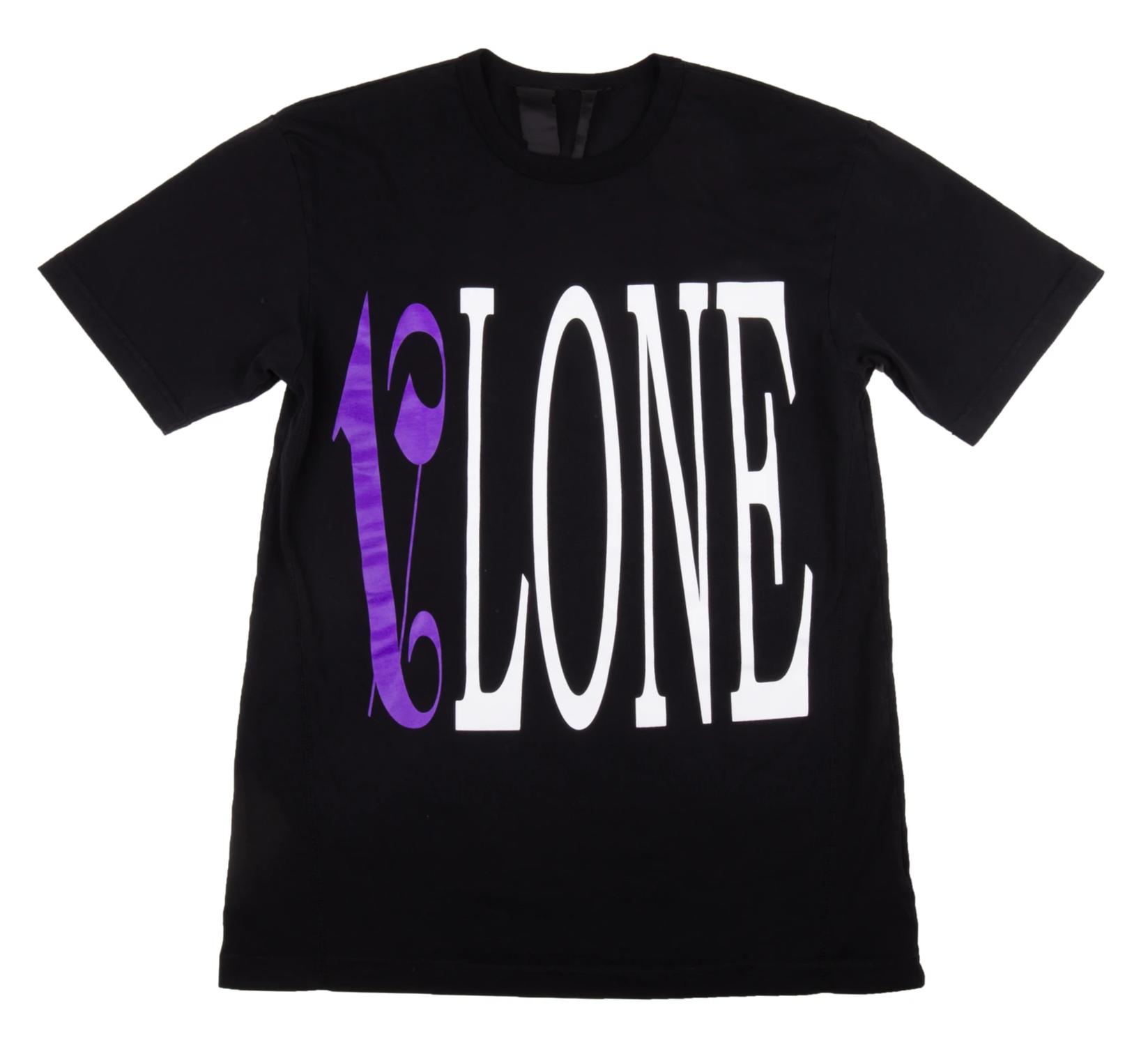 Vlone X Palm Angels Tee Black/Purple - CookiesandKicksLA