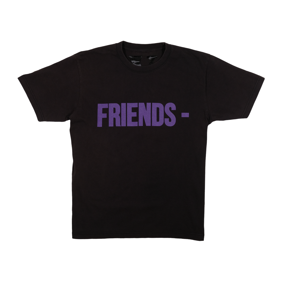 Vlone Friends Tee Black/Purple