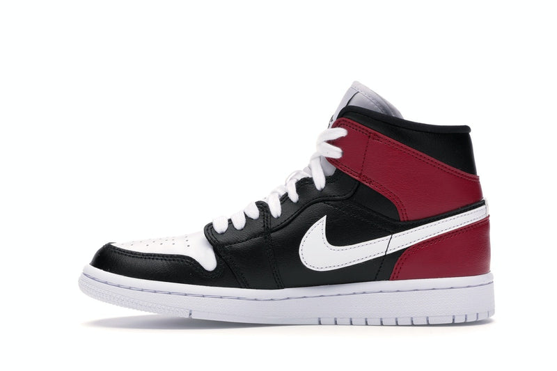 Jordan 1 Mid Black Noble Red (W)