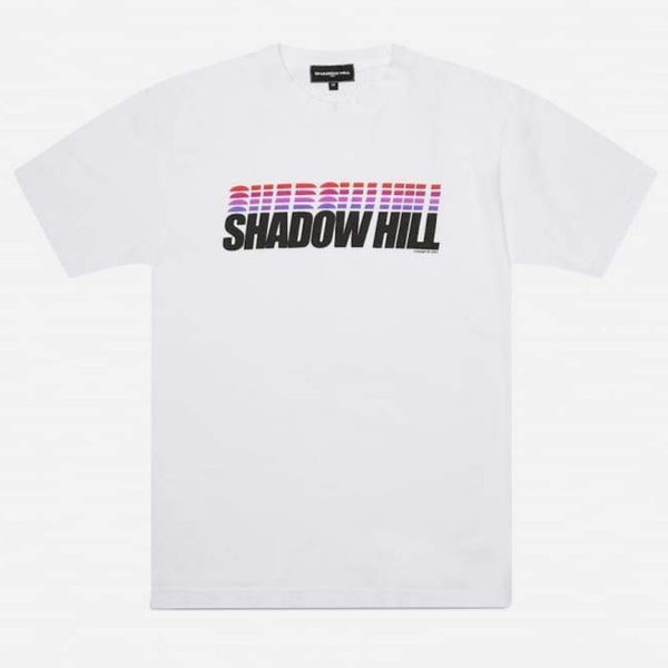 Shadow Hill WHITE ULTRAVIOLET T-SHIRT