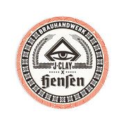 beer mat by J.Clay and Hensen brewery