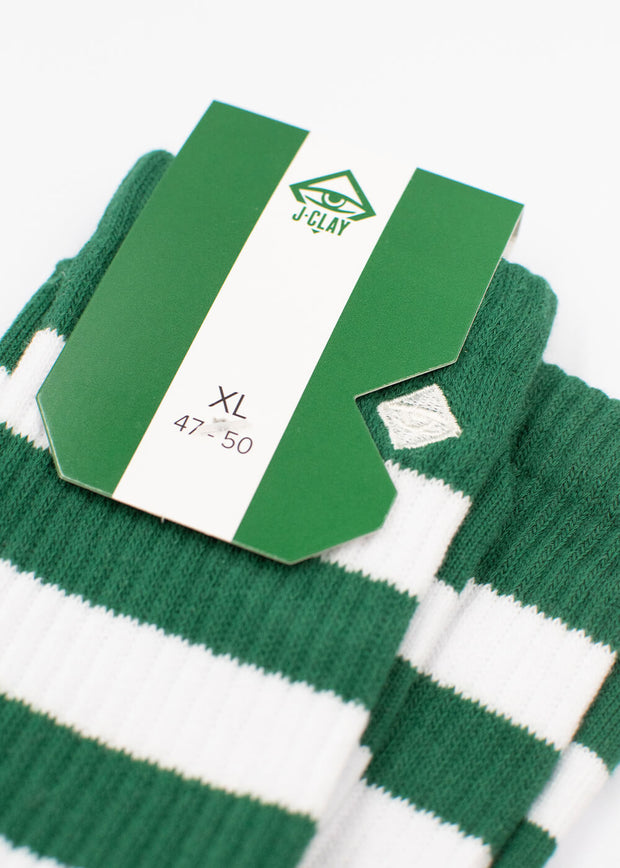 Leaf Stripes - Tennissocken