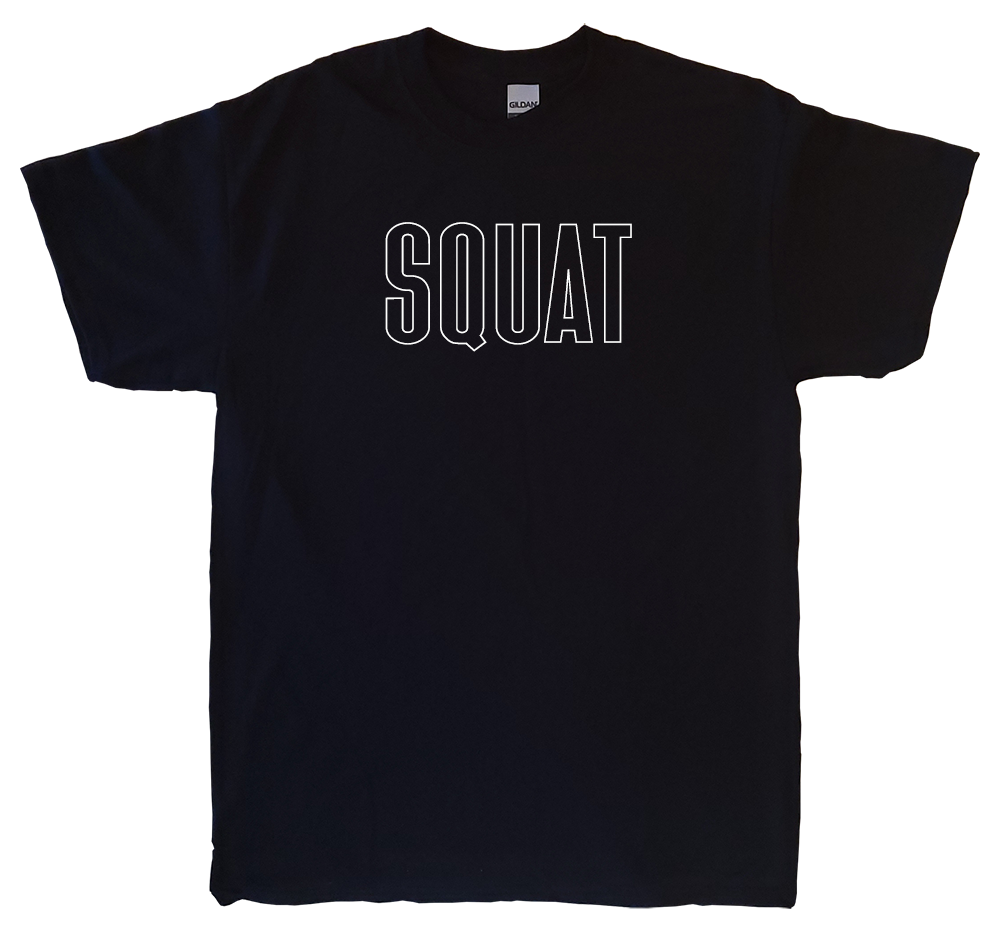 SQUAT Black T-Shirt