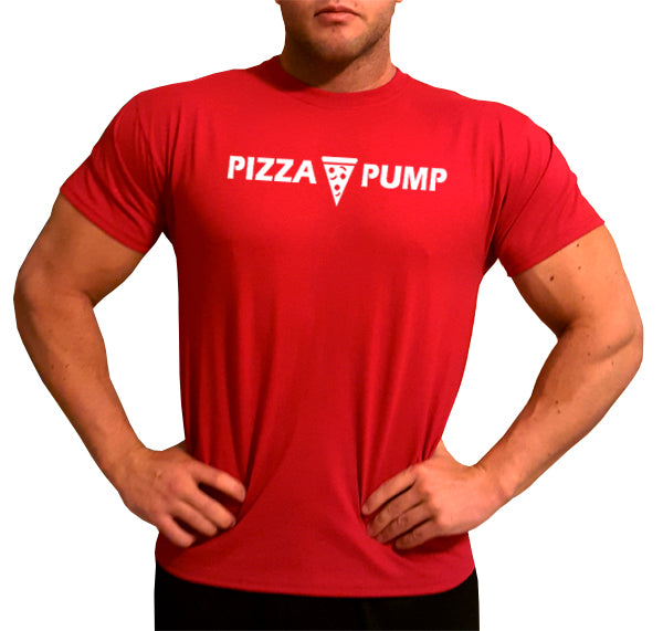 Pizza Pump Red T-Shirt