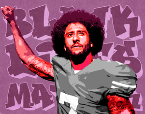 Kaepernick Pop Art Print