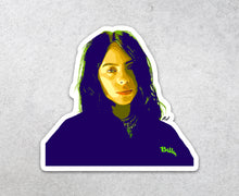 Load image into Gallery viewer, Billie Eilish Sticker