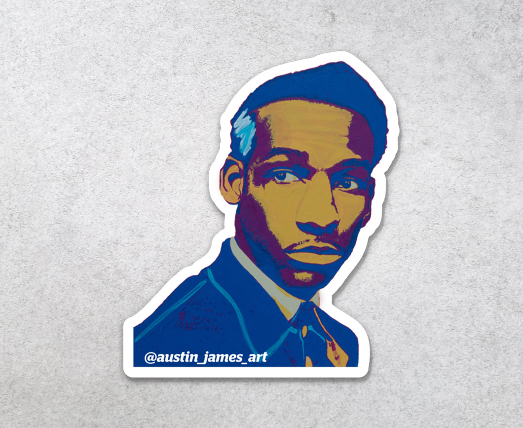 Leon Bridges Sticker