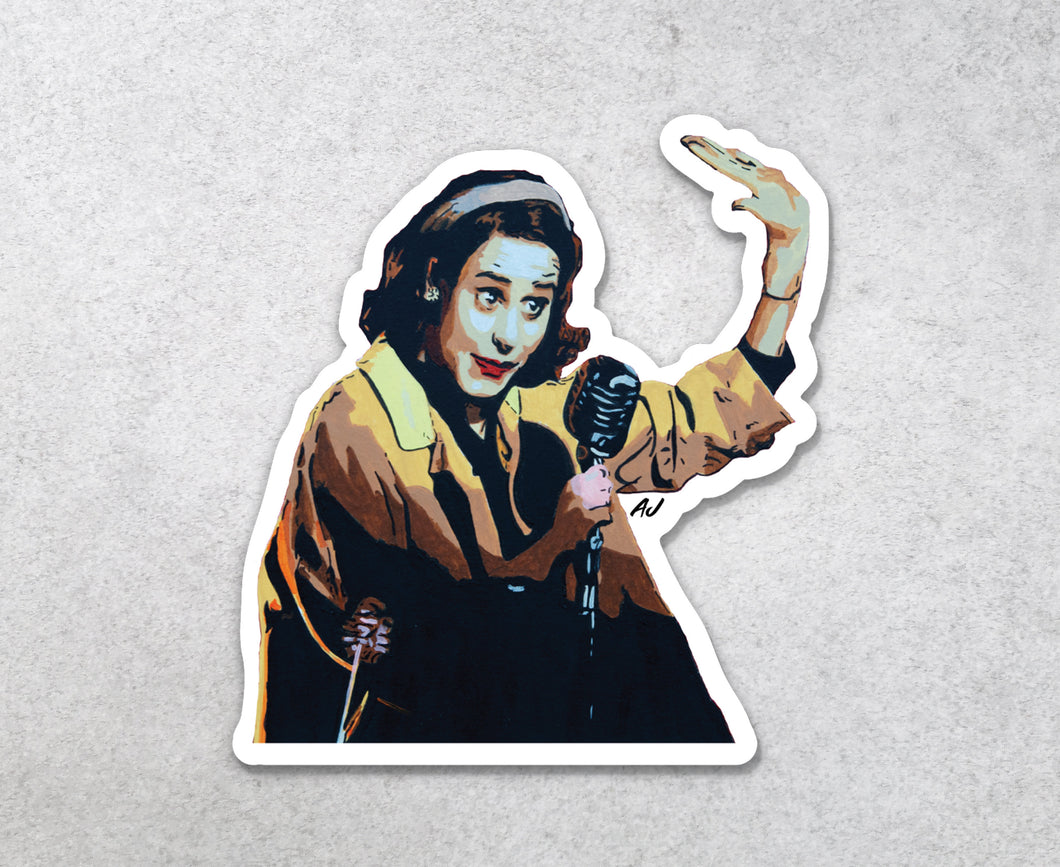 The Marvelous Mrs Maisel Sticker