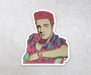 Elvis Presley Sticker