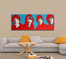 Load image into Gallery viewer, The Beatles Art Print