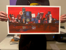 Load image into Gallery viewer, Dallas Skyline Limited Edition Art Print