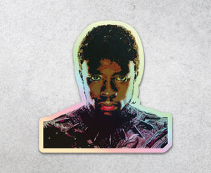 Black Panther Holographic Sticker