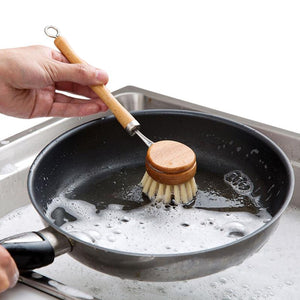 Non-Toxic Kitchen Deep Cleaning Brush