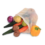 Biodegradable & Reusable Cotton Mesh Bags