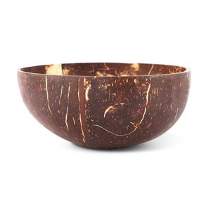 Handcrafted and Eco-Friendly Coconut Bowl, Fork & Spoon