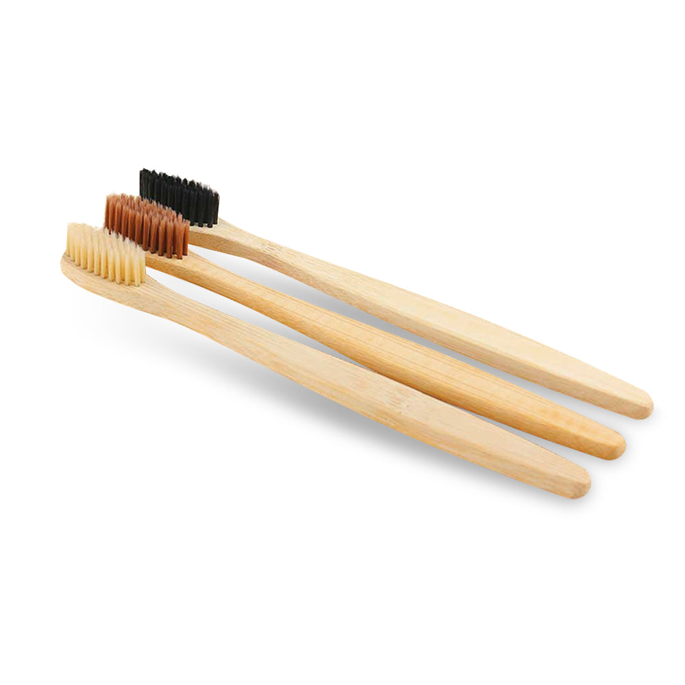 Bamboo Toothbrush with Charcoal Infused Bristles