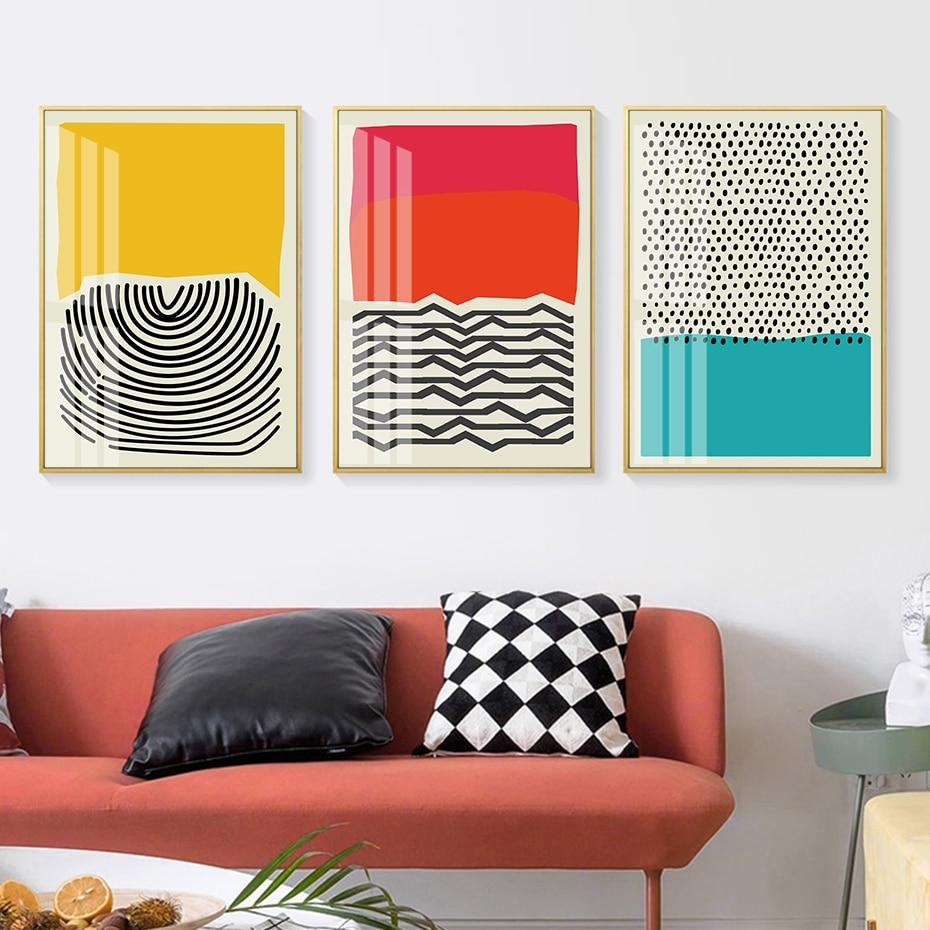 Abstract Geometric Wall Art - Lala Lamps Store