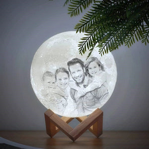 Customized Photo Moon Lamp - Lala Lamps Store
