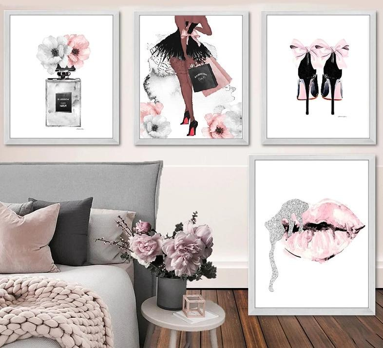 Fashion Wall Art - Lala Lamps Store