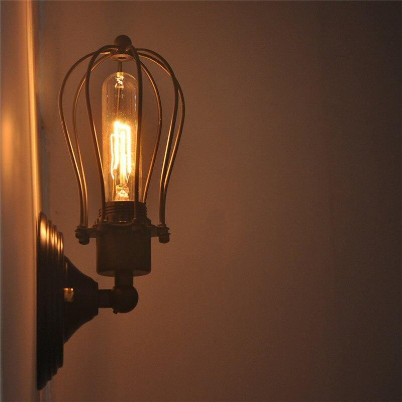 Industrial Dopet Cage Wall Lamp - Lala Lamps Store