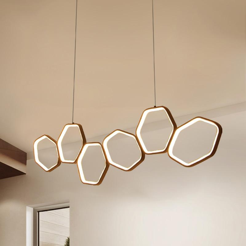 Jacosta - Art Deco LED Geometric Chandelier - Lala Lamps Store