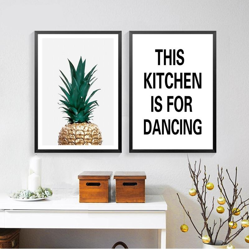 Kitchen Quote Canvas Wall Art - Lala Lamps Store