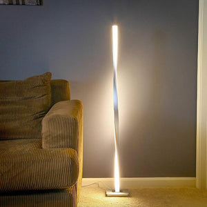 LED Twist Standing Floor Lamp - Lala Lamps Store