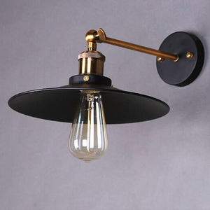 Lynux - Vintage Plated Wall Lamp - Lala Lamps Store