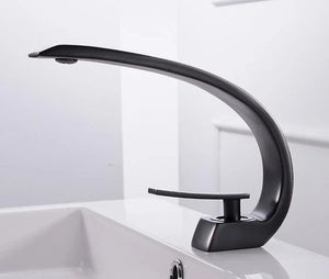 Modern Crane Design Single Handle Basin Faucet - Lala Lamps Store