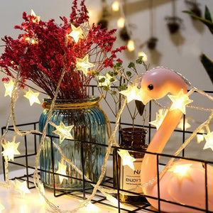 Modern Fairy Star Lights - Lala Lamps Store