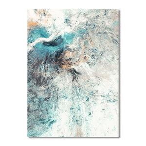 Modern Simplicity Abstract Canvas  Wall Art - Lala Lamps Store