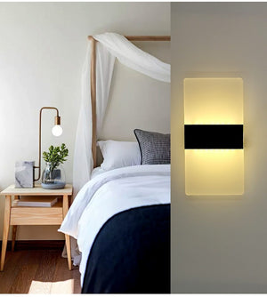 Modern Strip Acrylic LED Wall Lamp - Lala Lamps Store