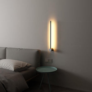 Nordic Minimalist Straight Stylish Wall Lamp - Lala Lamps Store